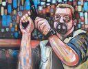 Walter with Gun