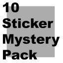 Mystery 10 Sticker Pack
